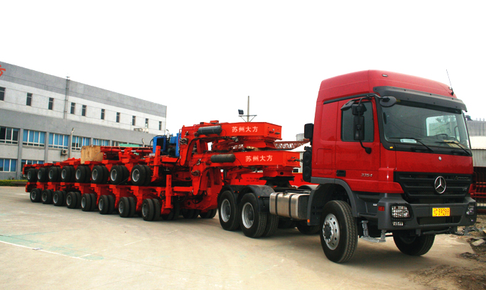 360t Hydraulic Trailer Ready For Delivery